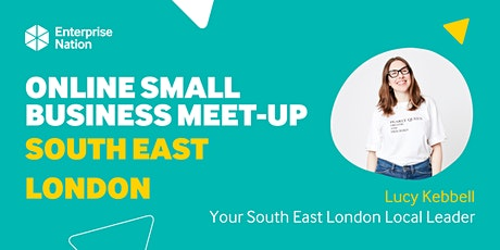 Online small business meet-up: South East London tickets