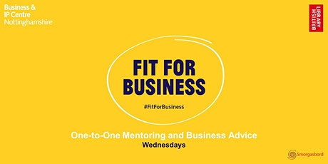 Fit for Business: One-to-One Business Advice `Sessions tickets