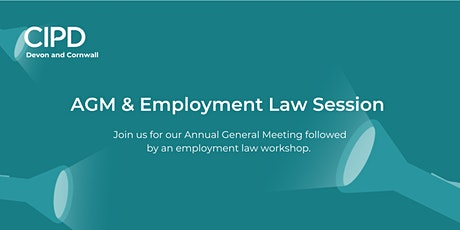 AGM & Employment Law Session tickets