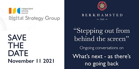 ISC Digital Conference 2021 - 11th November at Berkhamsted tickets