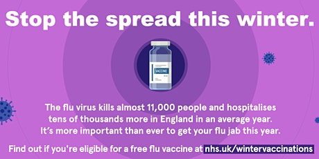 Boost your immunity - flu vaccination clinic - RBKC & WCC Staff tickets