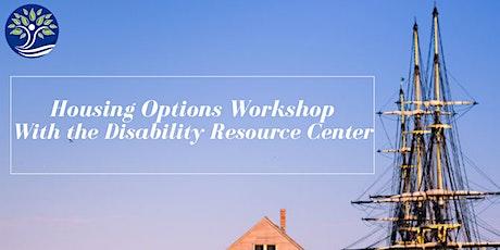 Housing Options Workshop October 2021 tickets