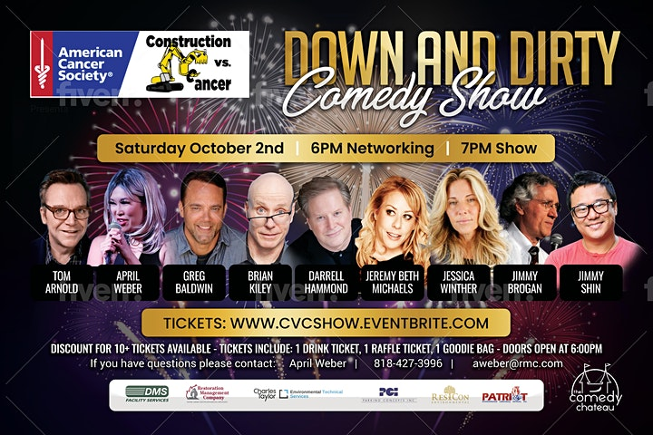Down & Dirty Construction vs Cancer Comedy Charity Fundraiser image
