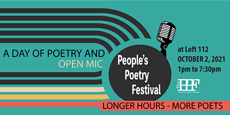 The People's Poetry Festival Afternoon of Poetry and Open Mic tickets