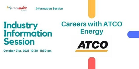MentorAbility Industry Information Session: Careers with ATCO tickets