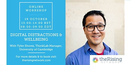 Digital Distractions & Wellbeing tickets