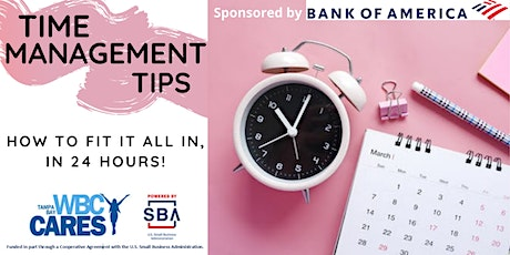 Time Management Tips tickets
