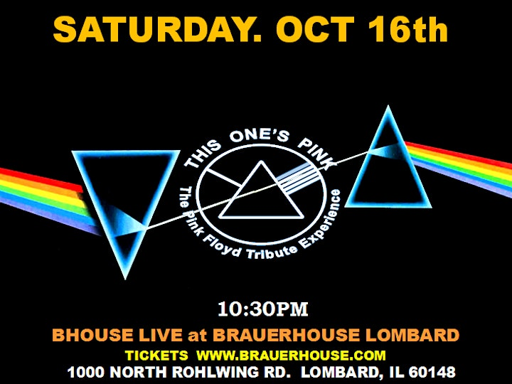 This One's Pink • A Tribute to Pink Floyd at B-House Live! image