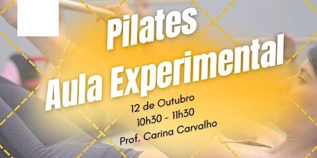 Pilates | Aula Experimental bilhetes
