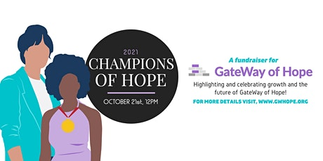 2021 Champions of Hope tickets