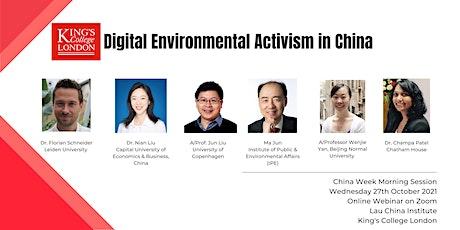 Digital Environmental Activism in China tickets