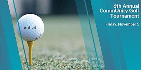 Protiviti's CommUnity Golf Tournament tickets