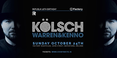 RePublik 16th Birthday with Kolsch, Warren & Kenno tickets