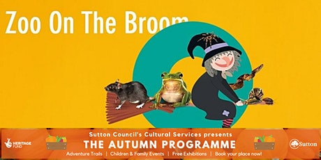 Zoo on the Broom with Zoolab @ Sutton Central Library tickets