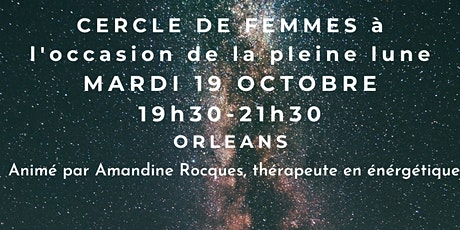 Cercle de femmes de pleine lune billets