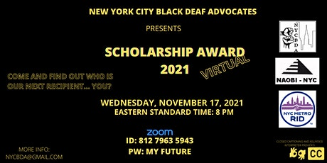 BIPOC DEAF AND HEARING INTERPRETERS NETWORKING: SCHOLARSHIP AWARD tickets