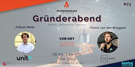Gründerabend #73 Tickets