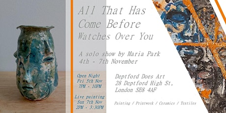 ALL THAT HAS COME BEFORE WATCHES OVER YOU | ART EXHIBITION tickets
