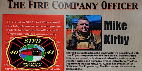 The Fire Company Officer tickets