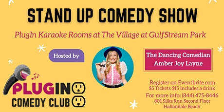 PlugIN Comedy night tickets