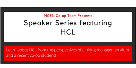 Speaker Series - HCL tickets