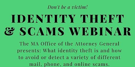 Identity Theft & Scams Webinar tickets