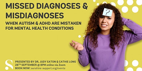 When Autism/ADHD is Misdiagnosed as a Mental Health Condition tickets