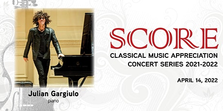 SCORE: Julian Gargiulio tickets
