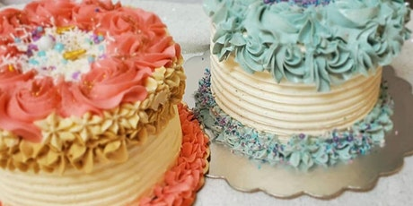 Beginner Cake Decorating with Italian Meringue Buttercream & Extreme Piping tickets