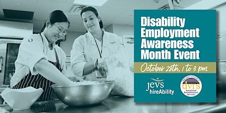 Disability Employment Awareness Month Event tickets