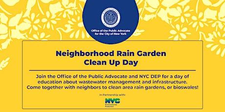 Neighborhood Rain Garden Clean Up Day tickets