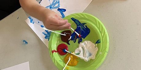 Curbside Craft Kit with Kiera - All About Painting! tickets