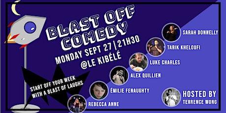 Blast Off Comedy Premiere billets