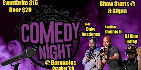 Comedy Night @ Barnacles tickets