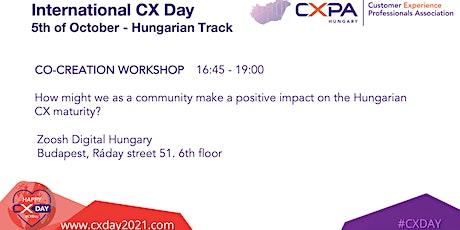 International CX Day - CO-CREATION WORKSHOP tickets