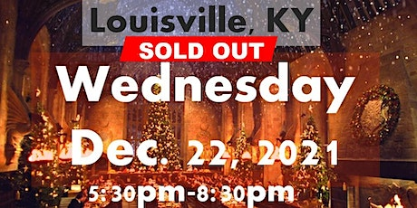 SOLD OUT: LOUISVILLE,KY:A Wizard's Christmas Dinner & Marketplace WEDNESDAY tickets