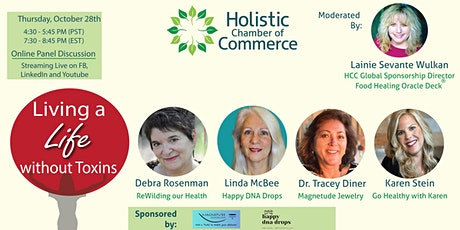 Community Education Panel ~ Living a Life without Toxins tickets