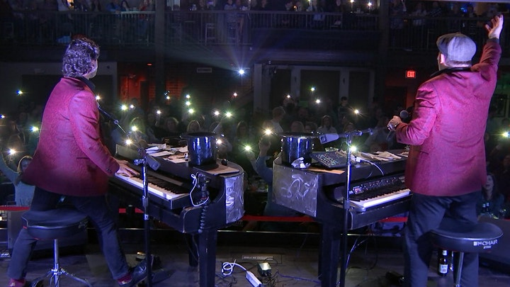 The Andrews Brothers Dueling Pianos Show image