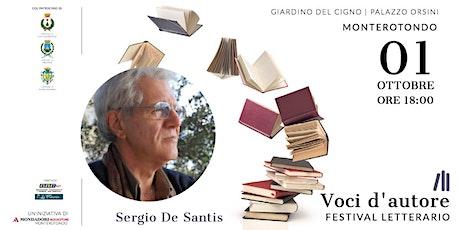 Sergio De Santis | Lo scrivano di Cesare biglietti
