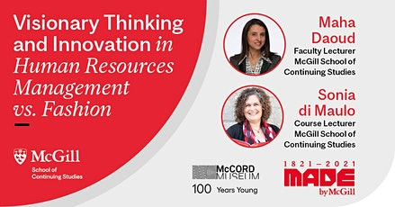 Visionary Thinking and Innovation in HR Management vs. Fashion tickets