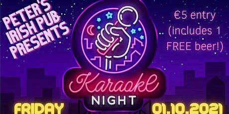 Peter's Irish Pub: Karaoke Extrodinaire billets