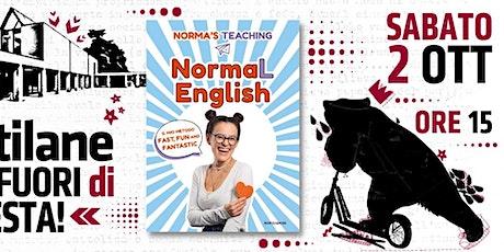 NormaL English :: presentazione del libro di Norma's Teaching biglietti
