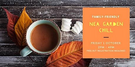 Autumn  Garden Programme: NEA Garden Chill tickets