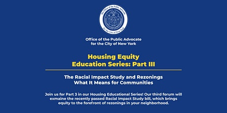 Housing Equity Education Series: Part III tickets