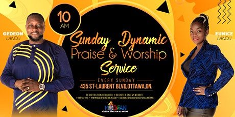 Sunday Dynamic Praise and Worship Service tickets