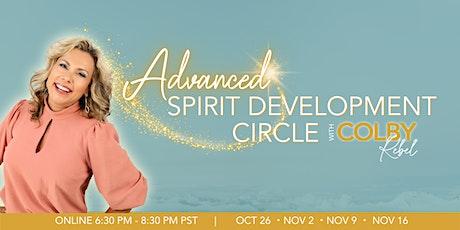 Advanced & Intermediate Spirit Development Circle-Online with Colby Rebel tickets