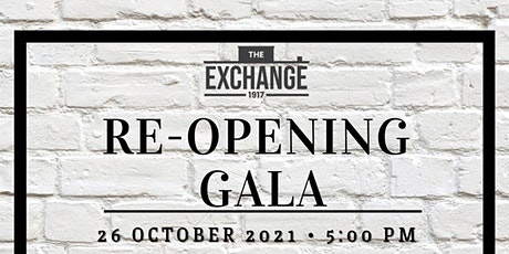 The Durham Exchange Reopening Gala tickets