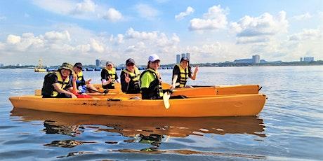 Kayaking Coastal Beach Clean Up Tour at Sembawang Park tickets