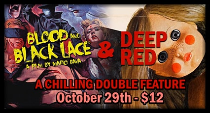 Glorious Giallo Night (Deep Red & Blood and Black Lace) tickets