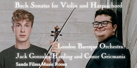 Bach Sonatas for Violin and Harpsichord (In person admission) tickets